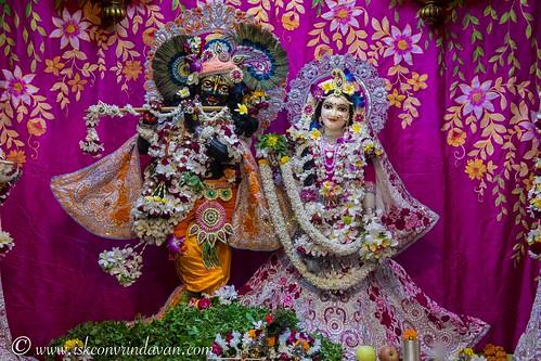 ISKCON Vrindavan Deity Darshan 09 Oct 2019