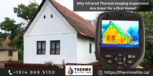 Why Infrared Thermal Imaging Inspections Are Great for a First Home_
