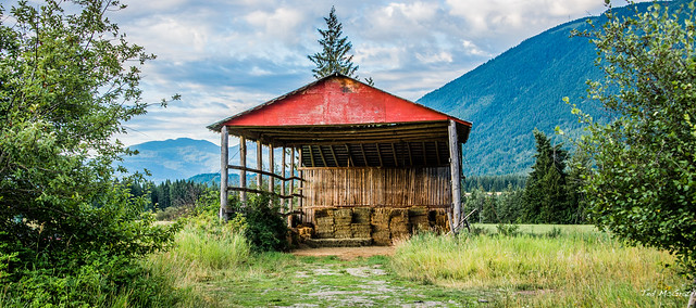 2019 - Road Trip #2 - 1 - Tappen BC Hay Shed