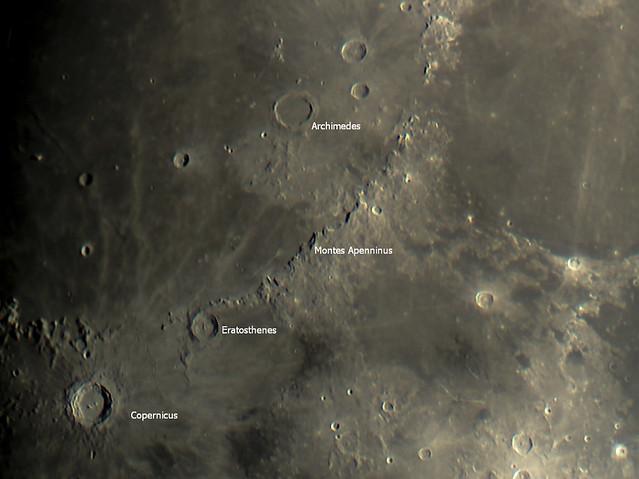 Montes Apenninus & Copernicus 08/10/19