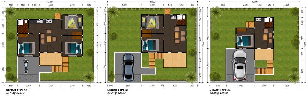 Denah Villa