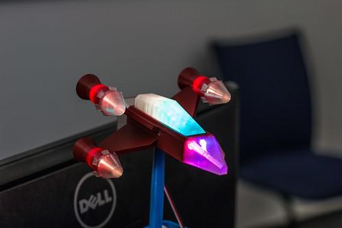 Die neue XFighter Busy Lamp - Regenbogenfarben