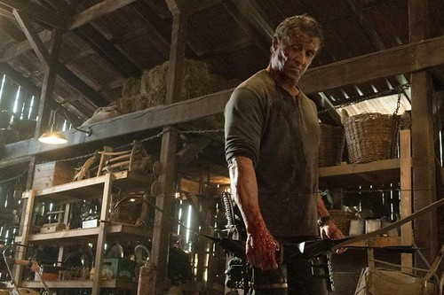 "The movie poster & stills of the movie ""Rambo: Last Blood"" , Oct, 2019"