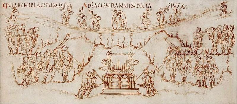 25 Утрехтская Псалтирь 820-830 гг.