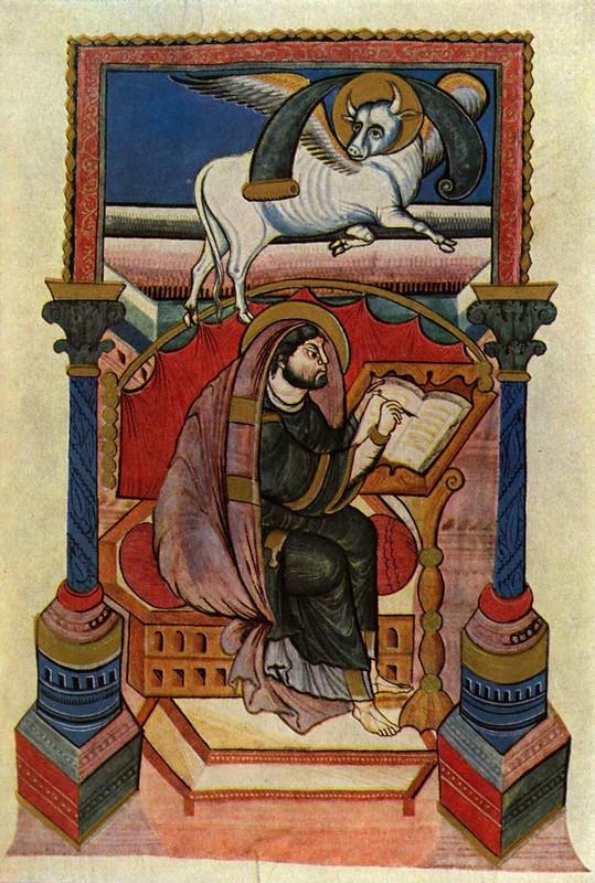22 Евангелие Фульдского аббатства, ок 840