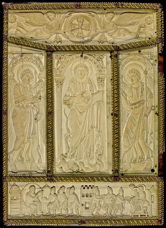 50 Оклад Лоршского Евангелия, нач.IX в., Аахен