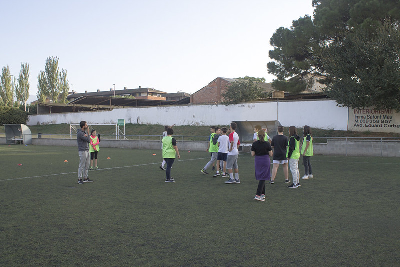 19-10-09, Jornades Esportives 2n ESO alumnes de Cardedeu