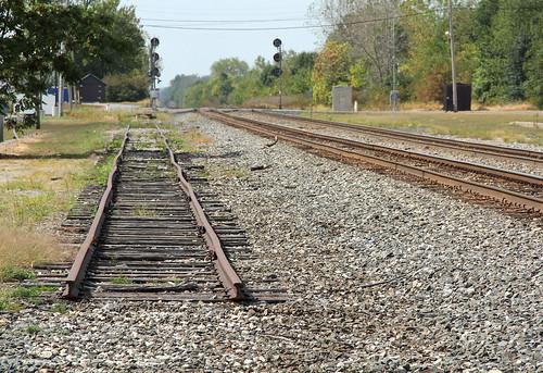 csx csxindianapolisline unioncityindiana railroadtracks