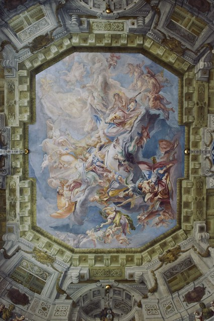 The Ceiling at the Upper Belvedere