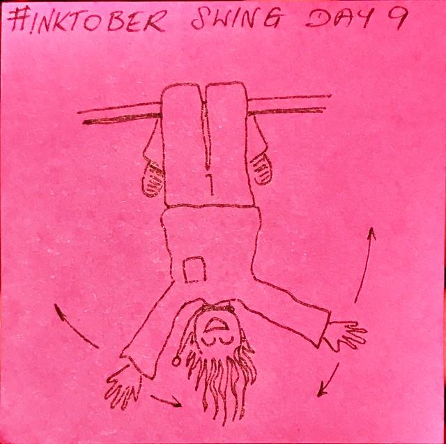 Swing #Inktober2019 Day 9