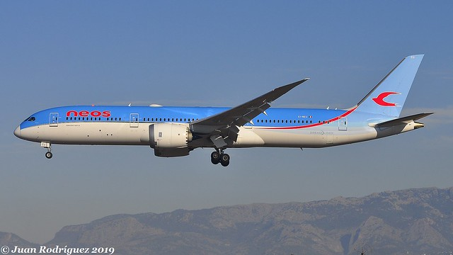 EI-NEU - Neos - Boeing 787-9 Dreamliner - PMI/LEPA