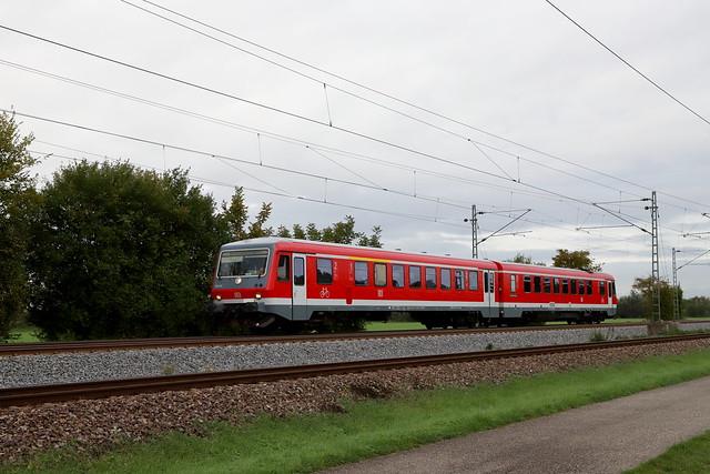 DB Regio 628 611-2 Betriebsfahrt, Bruchsal