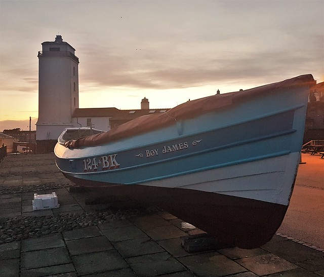 Low Light and 'Boy James' - North Shields