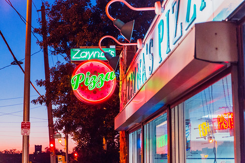 Zayna's Pizza Sunset