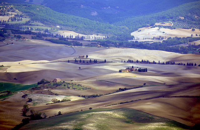 Panorama dalla Rocca d'Orcia 1
