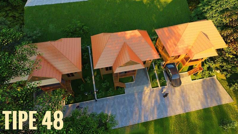 Sharia Kamojang Hills - Villa Panggung Tipe 48