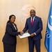 Presentation of Credentials by the Republic of Liberia