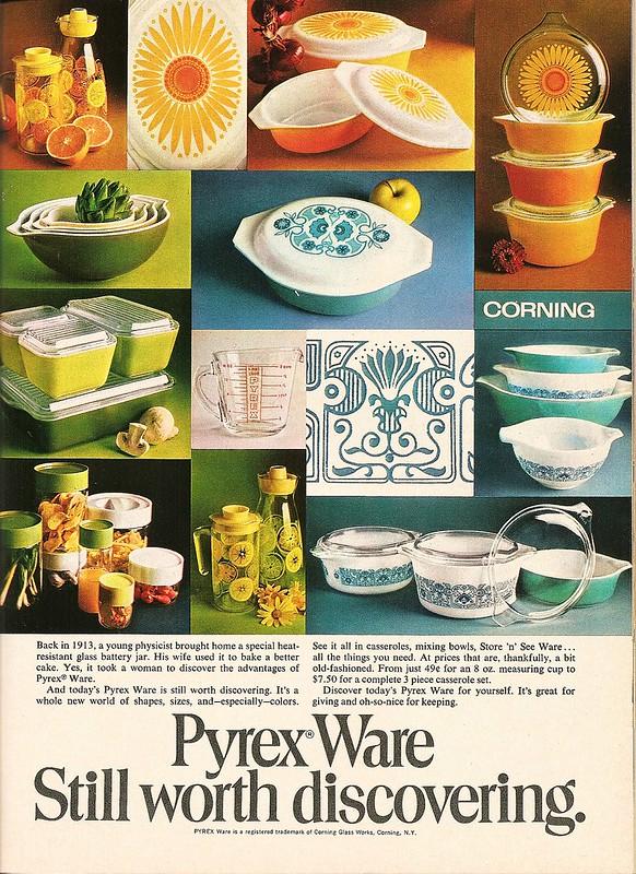 Pyrex 1970