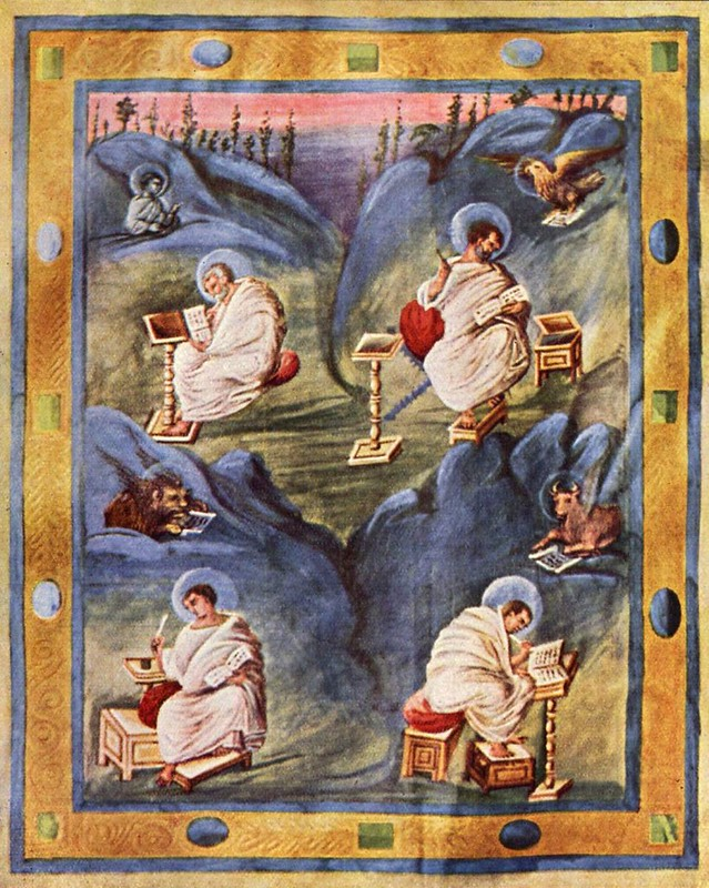 14 Аахенское Евангелие