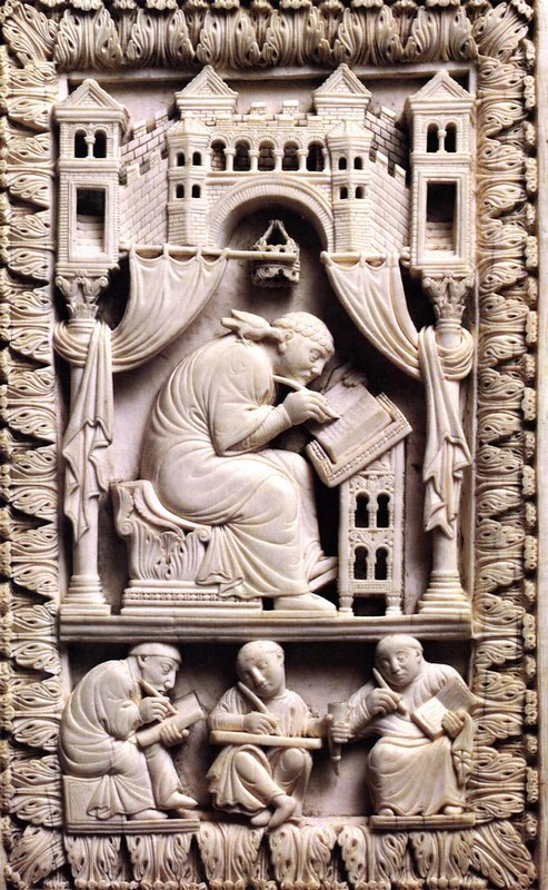 68 Св. Григорий Двоеслов, 968 - 980г. Оклад книги. Германия. Местонахождение Вена.
