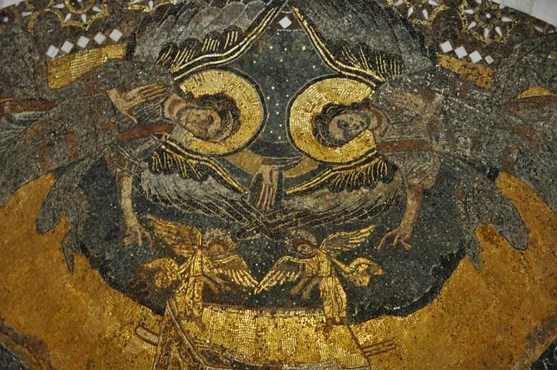 48 Мозаика в конхе абсиды
