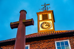 Yarm Town Hall clock