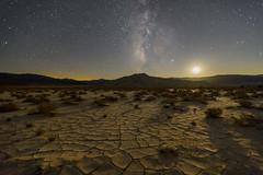 Sand Dunes & Milky Way by Moonlight