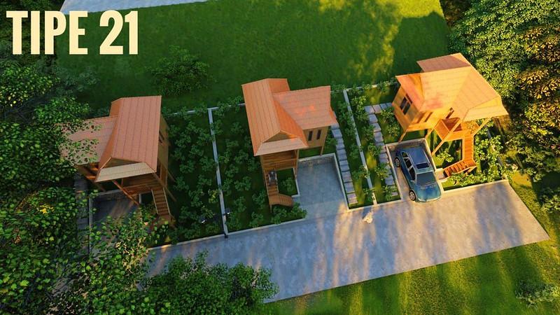 Sharia Kamojang Hills - Villa Panggung Tipe 21