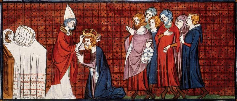 09 Папа Лев III коронует Карла Великого на Рождество 800 года.