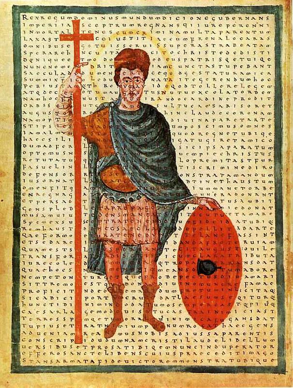 23 Ватиканский кодекс Рабана, Фульдское аббатство, ок.840