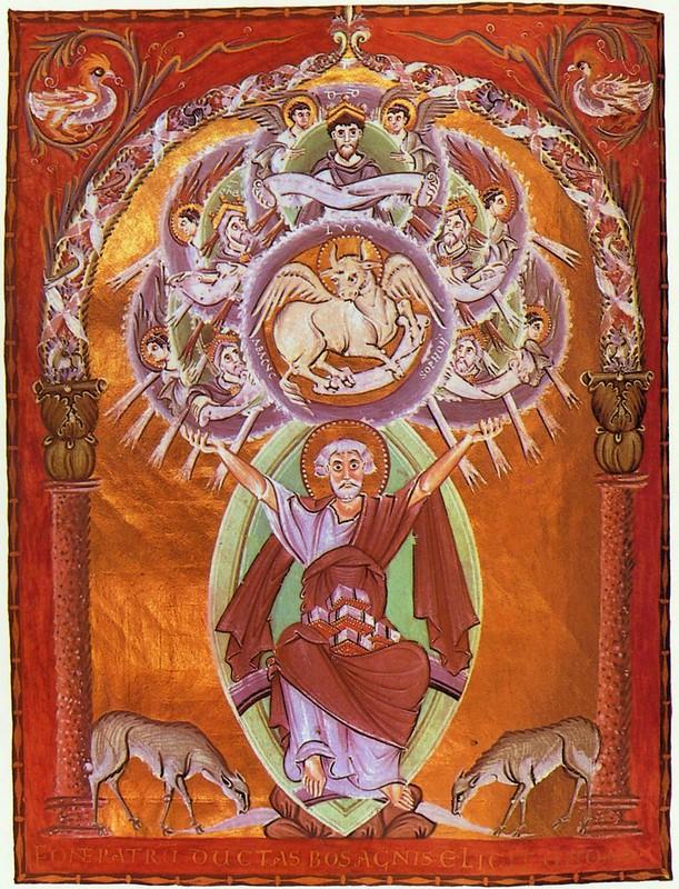 60 Евангелие Оттона III Мастер школы Райхенау