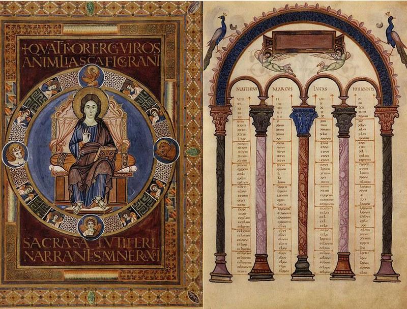 51 Золотой кодекс из Лорша между 778 -820