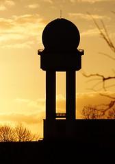 Radarturm Tempelhofer Feld - Berlin