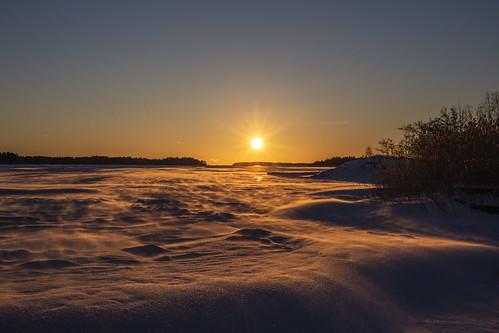 canon6d landscape frozen nature outside outdoors sun sunrise espoo finland