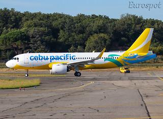 F-WWIM Airbus A320 Neo Cebu Pacific