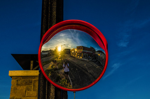 nikkor1855mm photoshop canada ontario paulboudreauphotography niagara d5100 nikon nikond5100 raw layer mirror reflection selfie sunset timhortons circle round red parkinglot
