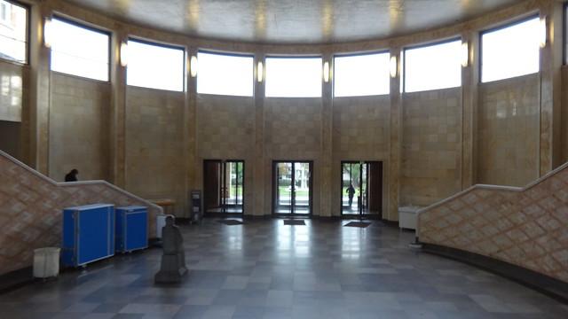 1929/31 Frankfurt/M. Eingangshalle I.G.-Farben-Bau von Hans & Marlene Poelzig Norbert-Wollheim-Platz in 60323