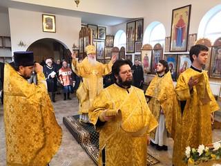 09.10.2019 | Божественная литургия в дер. Ивановское