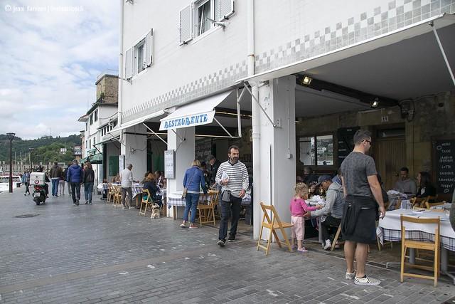 San Sebastiánin sataman ravintoloita