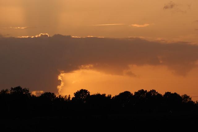 behind the cloud