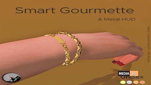 Smart Gourmette & Metal Hud - Gift