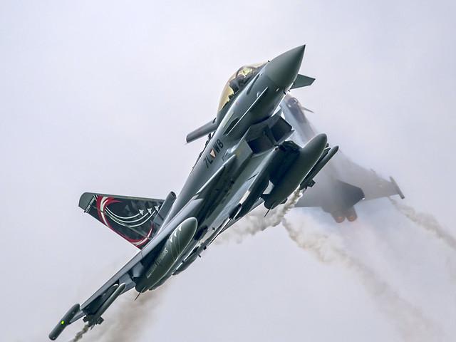 2x Eurofighter Typhoon - Austrian Air Force