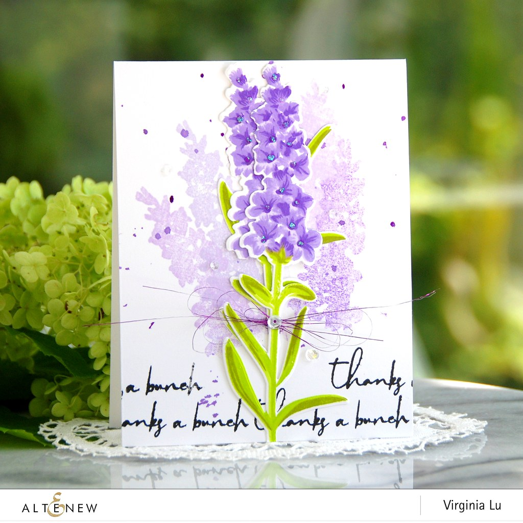 Altenew-Build-a-Flower-Lavender-Virginia#2