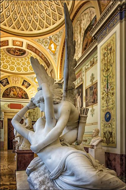 Hermitage Museum,  Canova ...