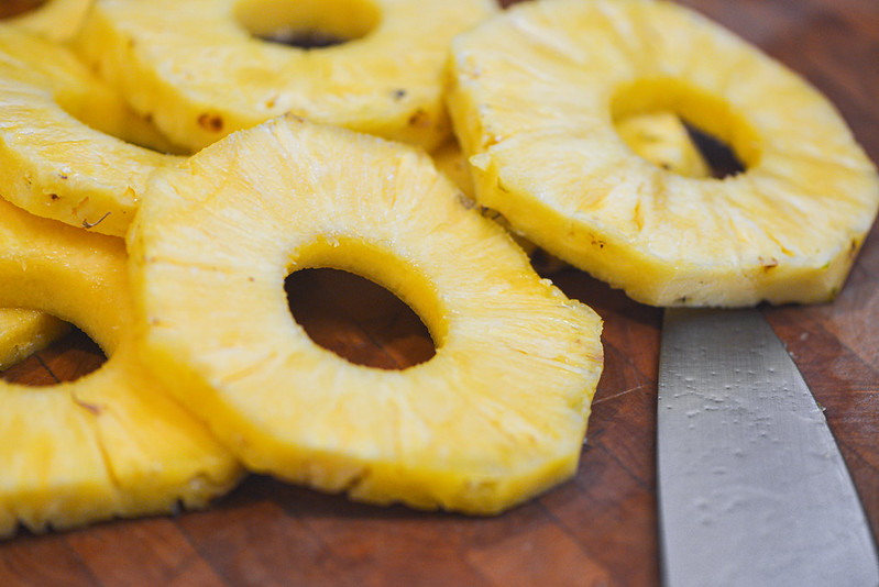 Grilled Pineapple Pizza