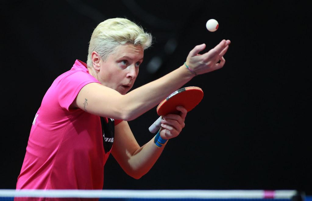2019 ITTF German Open   Bremen, GERMANY - 17.06.2021: Women