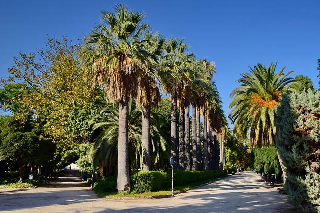 Jardines de Viveros, Valencia