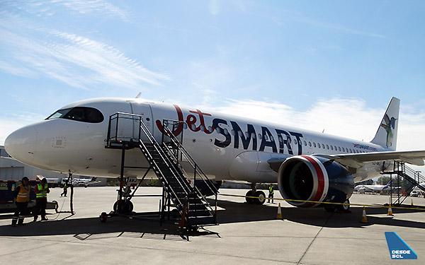JetSMART A320neo CC-AWJ (RD)