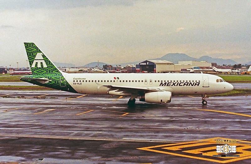 Mexicana / Airbus A320-231 / XA-RJZ