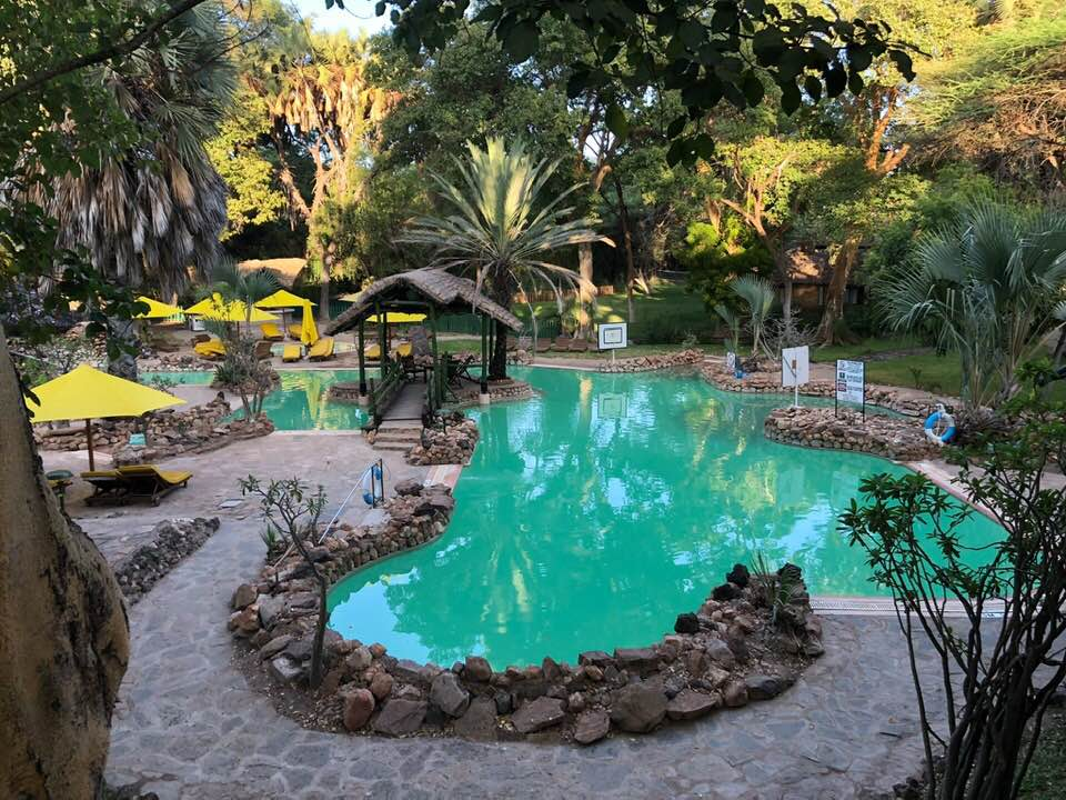 Sarova Shaba pool